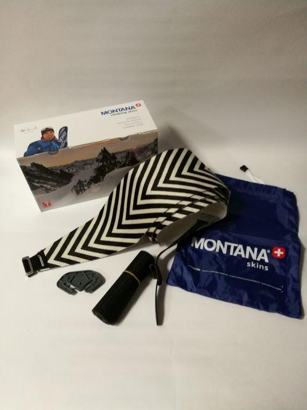 MONTANA MONTAMIX ZEBRA 120 mm SKI CLAMP skialpové pásy