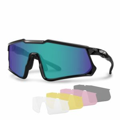 HATCHEY APEX PLUS black cyklistické brýle