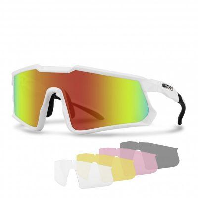 HATCHEY APEX PLUS white cyklistické brýle
