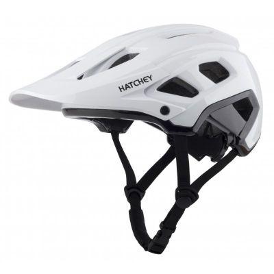 HATCHEY CONTROL white cyklistická helma    M, L, XL