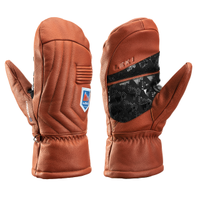 LEKI MARBEC 3D MITT lyžařské rukavice maroon 21/22 | 6, 7, 8, 9