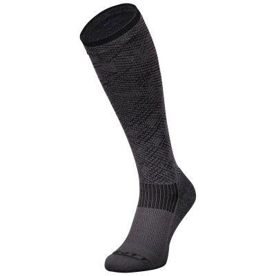 SCOTT MERINO CAMO ponožky dark grey melange/black 21/22 | S, M, L, XL