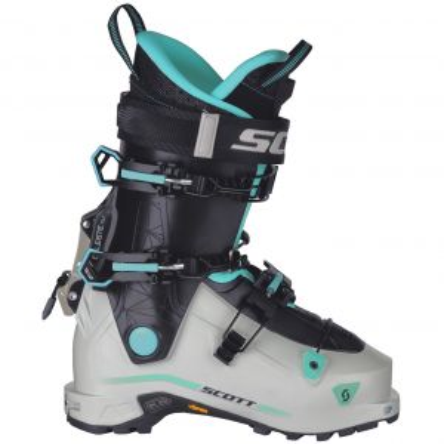 SCOTT W's CELESTE TOUR dámské skialpové boty white/mint green 21/22 | 23, 23,5, 24, 24,5, 25, 25,5, 26, 26,5, 27