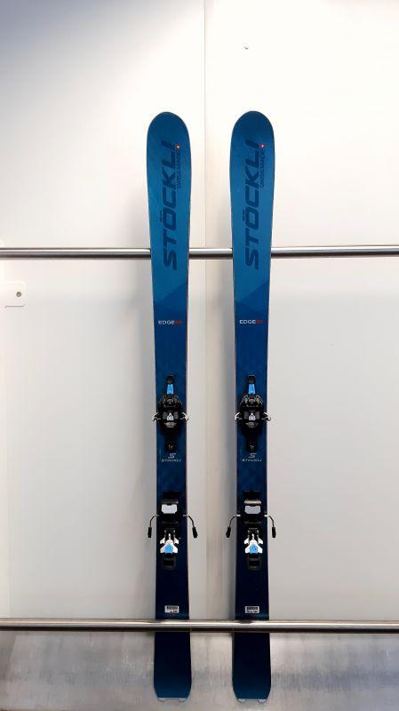 STÖCKLI EDGE 88 testovací skialpové lyže + vázání FRITSCHI Tecton + pásy MONTANA Montamix 20/21 Stöckli