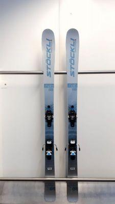 STÖCKLI NELA 88 testovací skialpové lyže + vázání FRITSCHI Tecton + pásy MONTANA Montamix 20/21 Stöckli