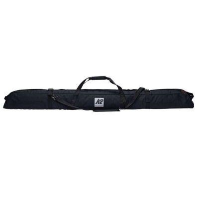 K2 SINGLE PADDED SKI BAG vak na lyže 195 cm black 21/22