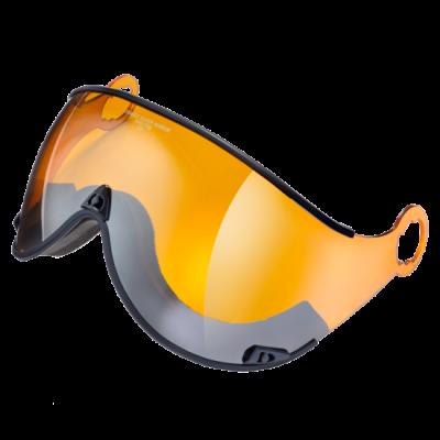 CP CURAKO lyžařská helma sport design sulphur/whiter/black