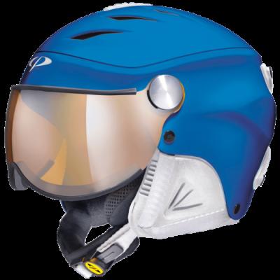 CP J CAMULINO dětská lyžařská přilba blue white