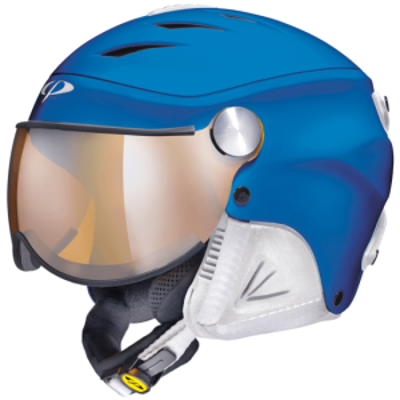CP J CAMULINO dětská lyžařská helma blue white