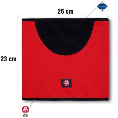 KAMA SW01 windstopperový nákrčník červený