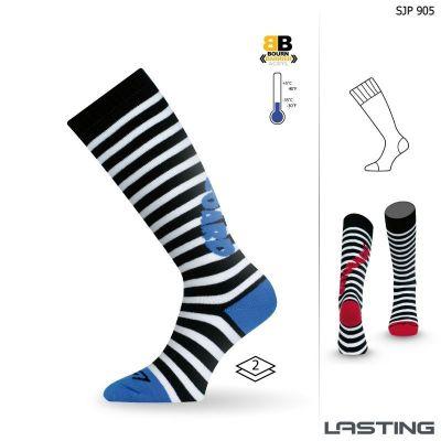LASTING SJP dětské ponožky modrá