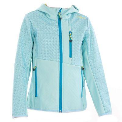 CMP dětská bunda Softshell aquamarina