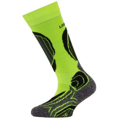 LASTING SJB dětské lyžařské ponožky žlutá