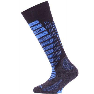 LASTING SJR dětské lyžařské ponožky modrá