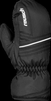 REUSCH ALLAN JUNIOR MITTEN dětské palcové rukavice black white