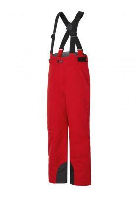 ZIENER ANDO dětské lyžařské kalhoty red pop stru
