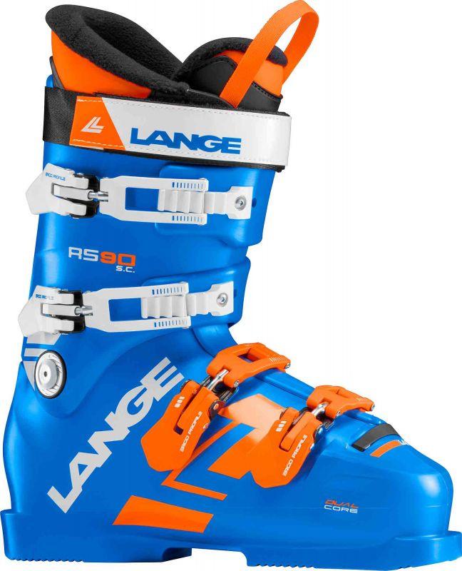 LANGE RS 90 S.C. sjezdové boty power blue 18/19