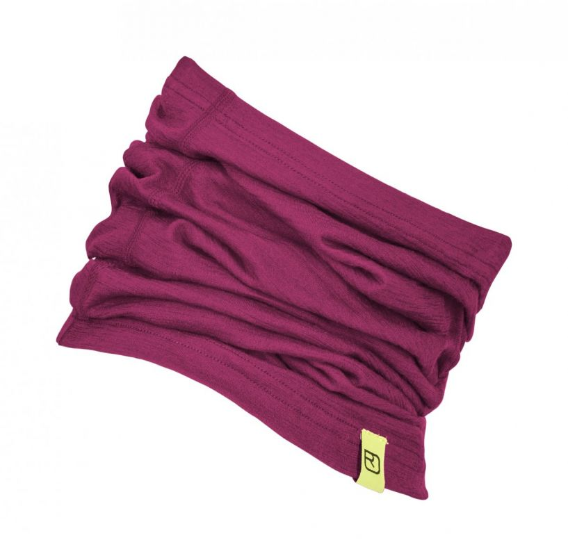 ORTOVOX 105 ULTRA NECK WARMER nákrčník dark very berry