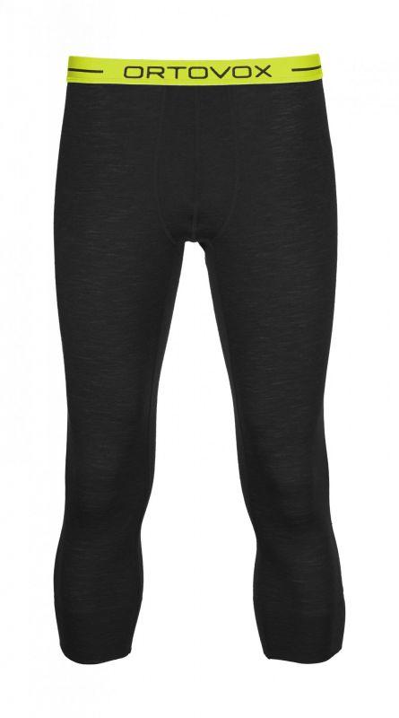 ORTOVOX 105 ULTRA SHORT PANTS 3/4 kalhoty black raven
