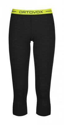 ORTOVOX 105 ULTRA SHORT PANTS dámské 3/4 kalhoty black raven