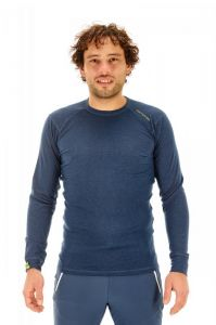 ORTOVOX 105 ULTRA LONG SLEEVE tričko night blue