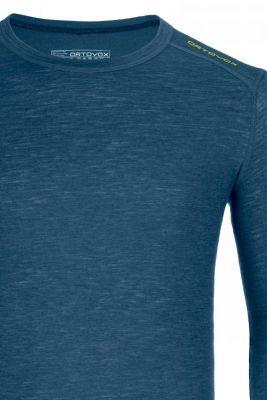 ORTOVOX 105 ULTRA LONG SLEEVE tričko night blue