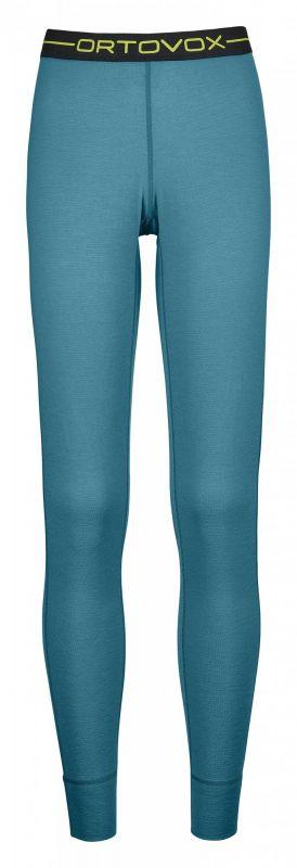 ORTOVOX 145 ULTRA LONG PANTS dámské kalhoty aqua