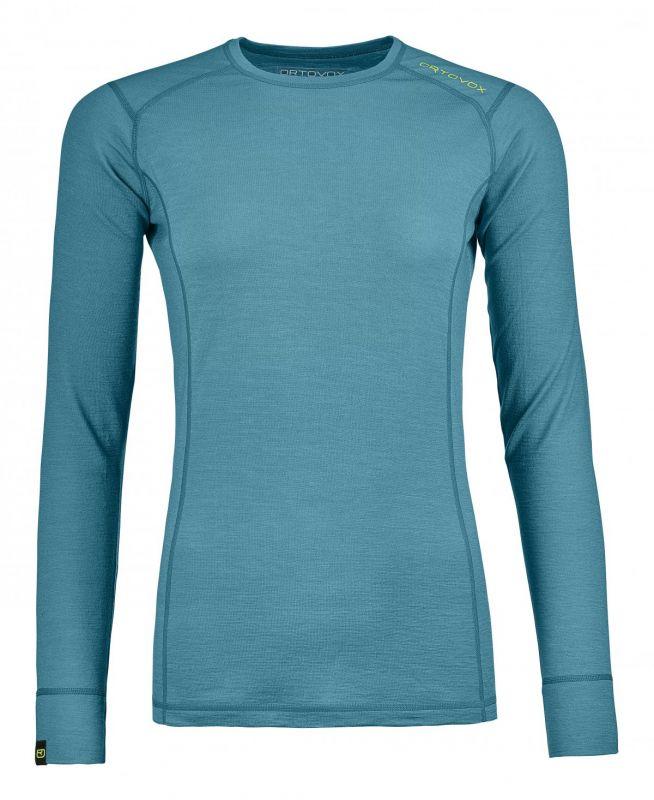 ORTOVOX 145 ULTRA LONG SLEEVE dámské tričko aqua