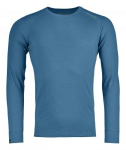 ORTOVOX 145 ULTRA LONG SLEEVE tričko blue sea