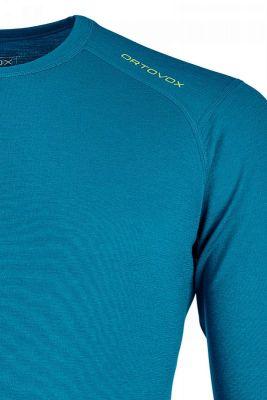 ORTOVOX 145 ULTRA LONG SLEEVE tričko blue sea