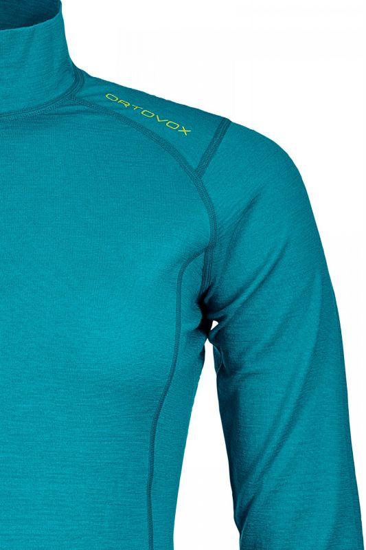 ORTOVOX 145 ULTRA ZIP NECK dámské tričko aqua 608449b492