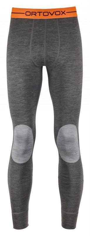 ORTOVOX 185 ROCK'N'WOOL LONG PANTS kalhoty dark grey blend