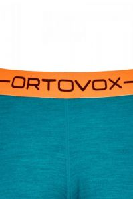 ORTOVOX 185 ROCK'N'WOOL SHORT PANTS dámské kalhoty hot coral blend