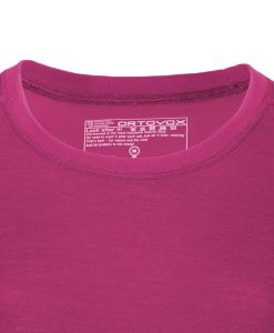 ORTOVOX 210 SUPERSOFT LONG SLEEVE dámské tričko dark very berry
