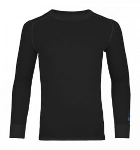 ORTOVOX 210 SUPERSOFT LONG SLEEVE tričko black raven