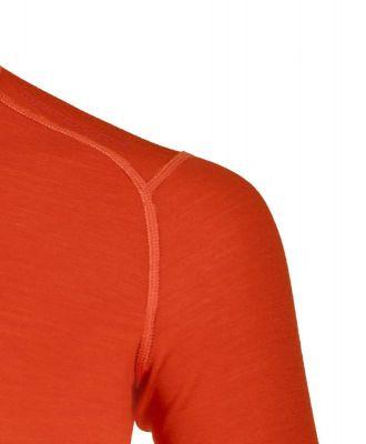ORTOVOX 210 SUPERSOFT ZIP NECK tričko black raven