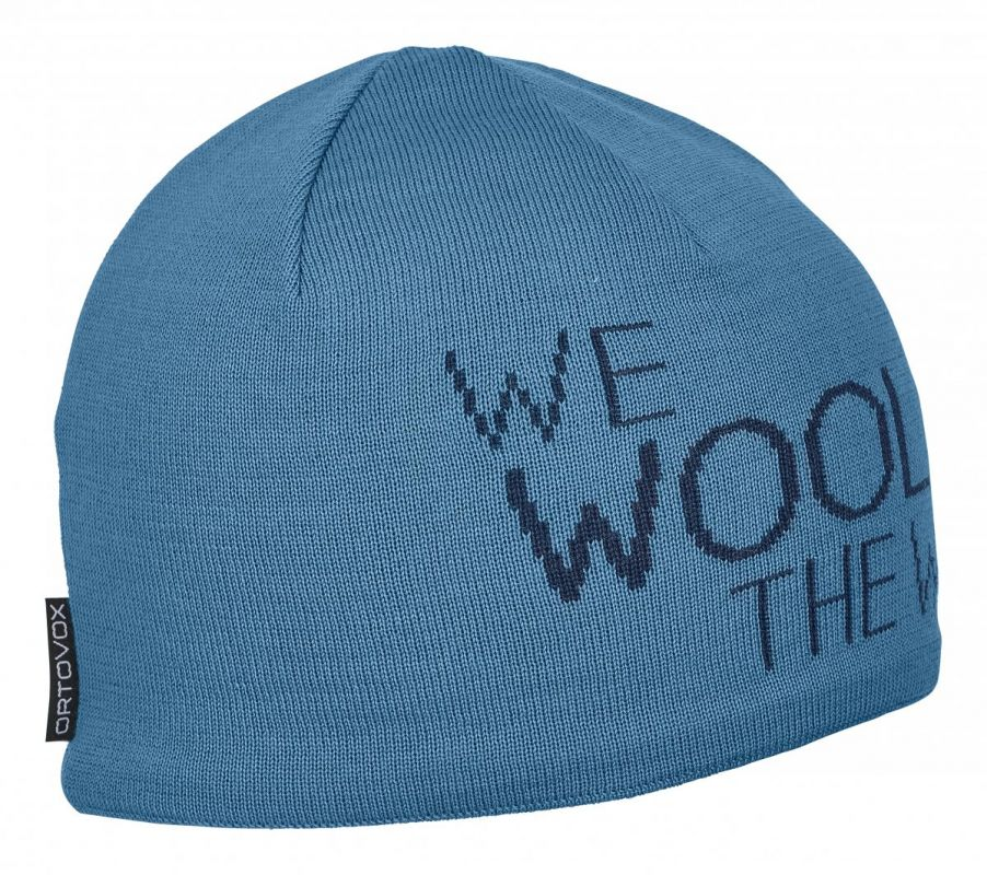 ORTOVOX WE WOOL THE WORLD BEANIE čepice aqua