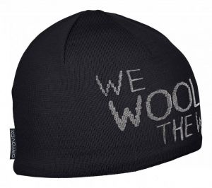 ORTOVOX WE WOOL THE WORLD BEANIE čepice black raven