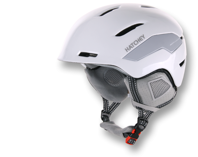 HATCHEY HARELL lyžařská helma white 20/21