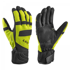 LEKI ELEMENTS PALLADIUM S prstové rukavice lime black 17/18
