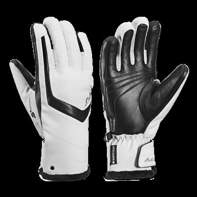 LEKI STELLA S LADY dámské prstové rukavice white black 18/19