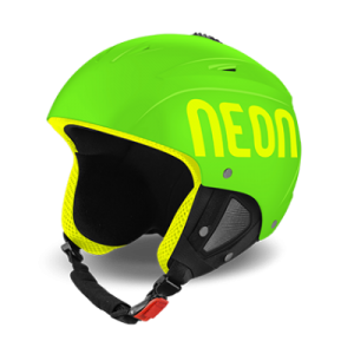 NEON LUNAR lyžařská helma green fluo/yellow fluo