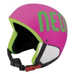 NEON LUNAR lyžařská helma pink fluo/green fluo
