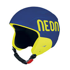 NEON WILD FIS lyžařská helma blue royal/yellow fluo