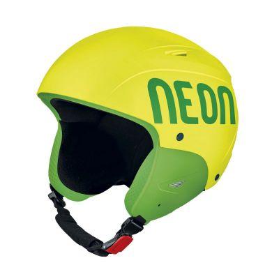 NEON WILD FIS lyžařská přilba yellow fluo/green fluo