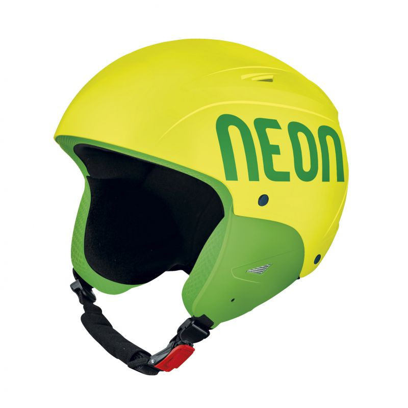 NEON WILD FIS lyžařská helma yellow fluo/green fluo