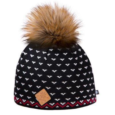 KAMA A105 pletená čepice černá