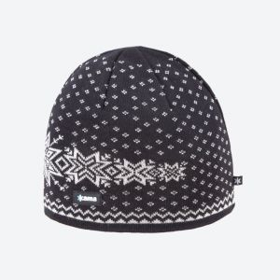 KAMA A128-110 pletená čepice černá