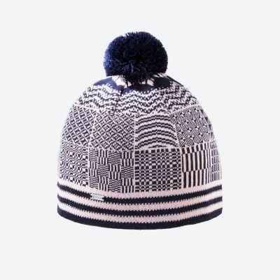 KAMA A132 pletená čepice růžová