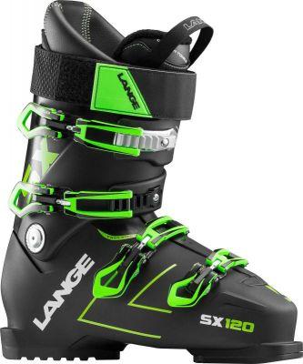 LANGE SX 120 sjezdové boty tr. black green 18/19